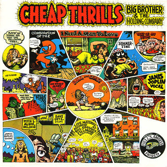 Janis Joplin - Cheap Thrills: big brother e the Holding Company LP