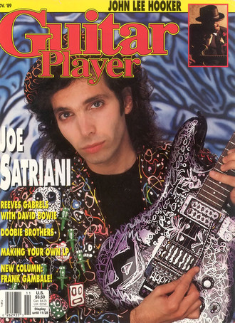 Revista Guitar Player USA (nov. 1989) - Joe Satriani