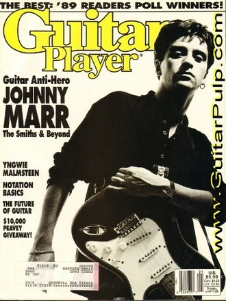 Revista Guitar Player USA (jan. 1990) - Johnny Marr
