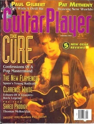 Revista Guitar Player USA (set. 1992) - The Cure