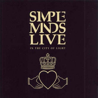 Simple Minds - In the city of light - live LP duplo