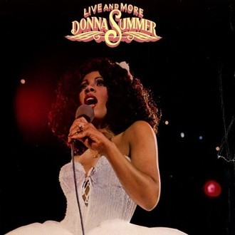 Donna Summer - Live and more LP duplo