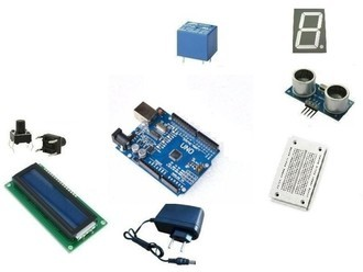Kit AF BLACK + Shield Ethernet W500 Compatível Arduino