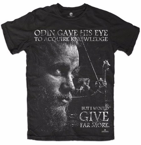 Vikings Series - Odin Gave His Eye - Ragnar Lothbrok(Camiseta)