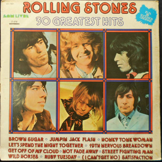 The Rolling Stones - 30 greatest hits LP duplo