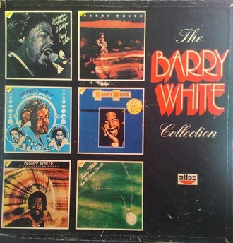 The Barry White Collection Boxset com 6 LPs