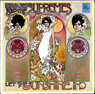Diana Ross e the Supremes - Let the sunshine in LP MONO
