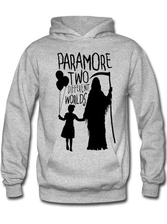 Moletom Paramore Different Worlds