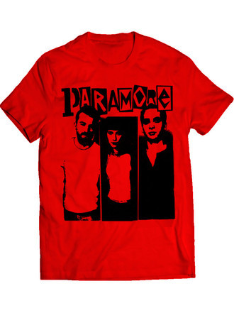 Paramore The Band (Camiseta e BabyLook)