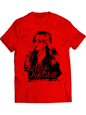 Avril Lavigne Album Sessions (Camiseta e BabyLook)