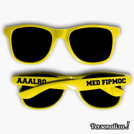 ea5bb0332eaf2 Óculos de Sol Personalizado Hastes