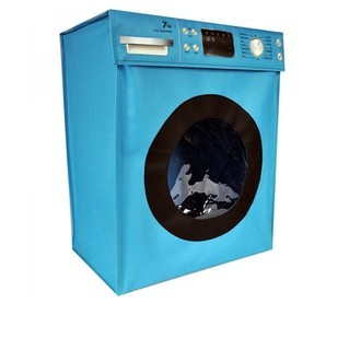 Cesto de Roupa Washing Machine Azul