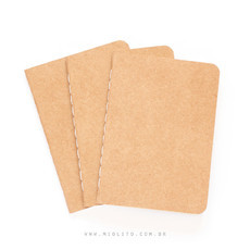 Kit de Journals - Kraft