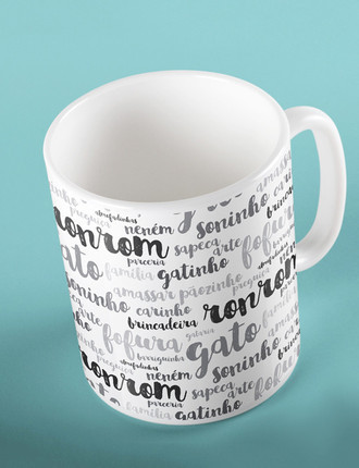Caneca Word Cloud
