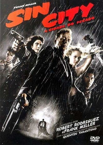 Sin City: a cidade do pecado - de Robert Rodriguez DVD