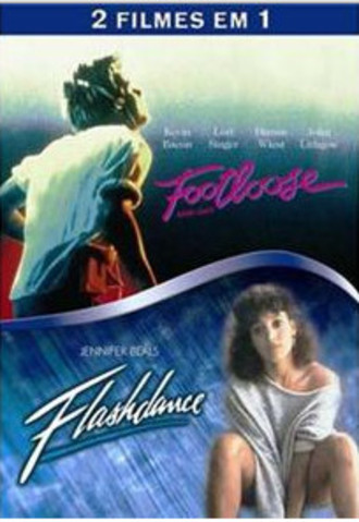 2 filmes em 1: Footloose + Flashdance - DVD duplo