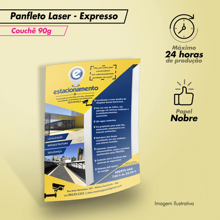 Panfletos Digital Express Couche