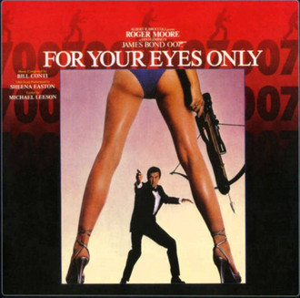 James Bond 007 - For your eyes only - trilha sonora LP (imp. USA)
