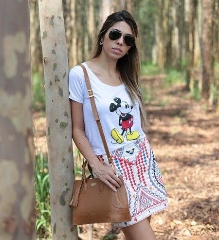 T shirt Mickey Vintage