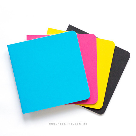 Kit de Journals - CMYK (quadrado)