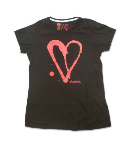T SHIRT BASICO ACID HEART
