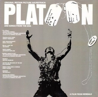 Platoon - original motion soundtrack LP