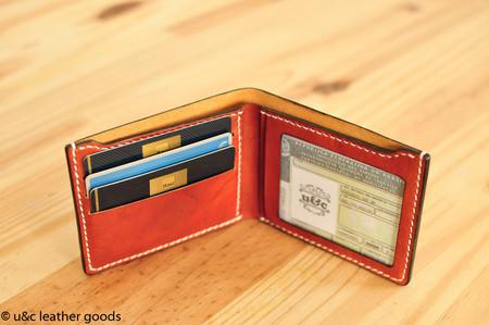 a0e890501 Carteira Masculina Compacta com porta CNH (BW019) - u c custom leather goods