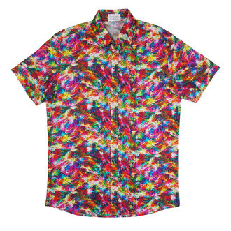 Camisa Estampada Neon Lights