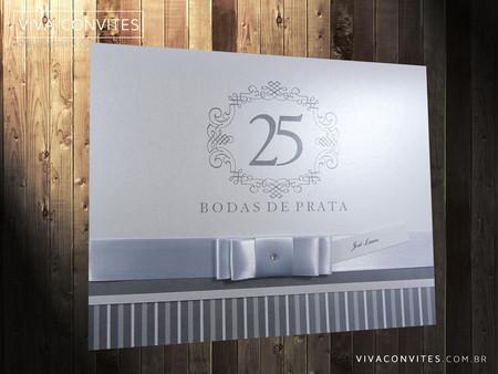 Convite Bodas De Prata 001