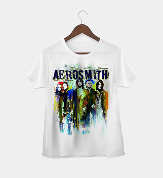 Camiseta Rock Feminina Aerosmith