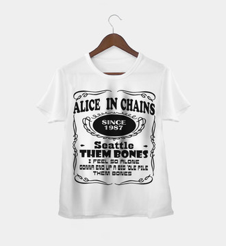 Camiseta Rock Feminina Alice In Chains