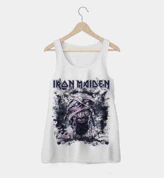 Regata feminina Iron Maiden