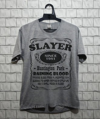 Camiseta masculina Slayer (3)