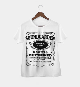 Camiseta Rock Feminina Soundgarden