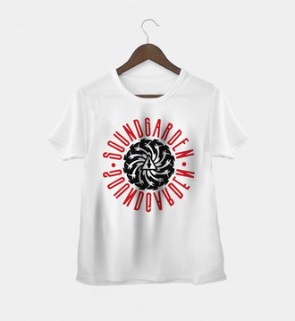 Camiseta feminina Soundgarden (1)