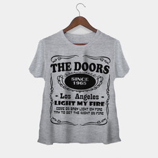 Camiseta Rock Feminina The Doors