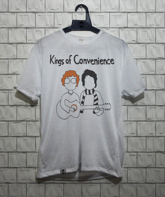 Camiseta masculina Kings Of Convenience (2)