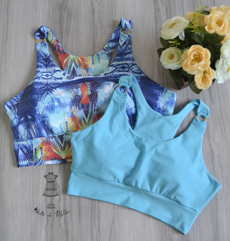 ❁ Top Fit de argolas ❁