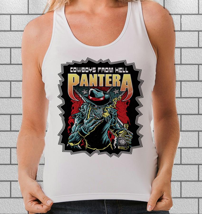 6bf9fa520d Regata feminina Pantera - Camisetas de rock
