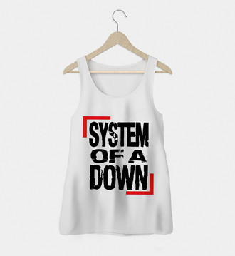 Regata Rock Feminina System Of A Down