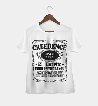 Camiseta Rock Feminina Creedence