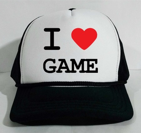 Boné Trucker I love Game Gaming