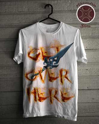Camiseta Get Over Here