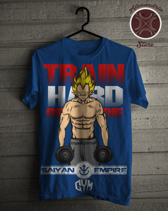 Camiseta Train Hard