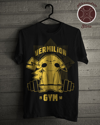 Camiseta Vermilion Gym