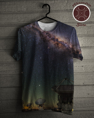 Camiseta Desert Atacama Night Sky