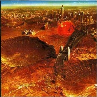 Midnight Oil - Red sails in the sunset LP (imp. USA)