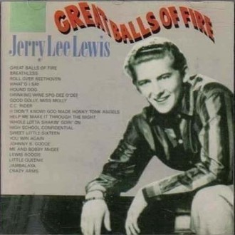 Jerry Lee Lewis - Great balls of fire LP