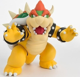 Action Figure Bowser SHFiguarts - Super Mario Bros