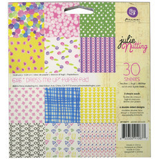 "BLOCO 6""X6"" - PRIMA MARKETING - JULIE NUTTING - DRESS ME UP"